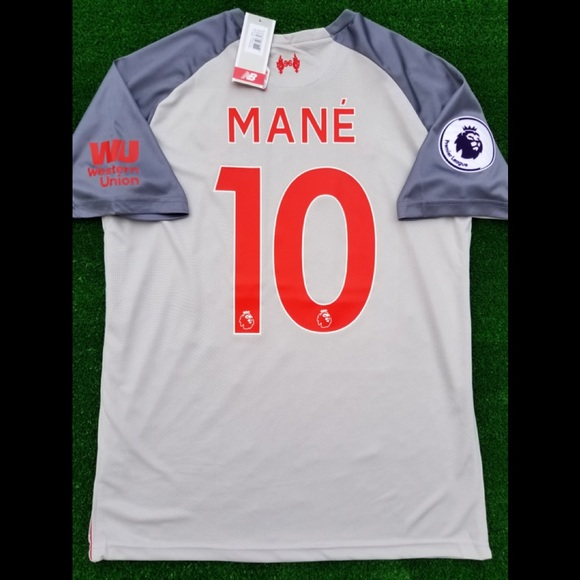 0a7148c82 New Balance Shirts | 201819 Liverpool Fc 3rd Kit Soccer Jersey Mane ...